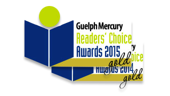 Guelph Mercury Readers Choice 2015 and 2014