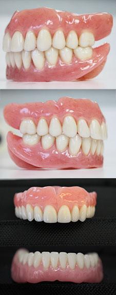 Standard Dentures and Premium Dentures